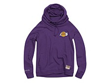 Los Angeles Lakers Women's Funnel Neck Fleece Hoodie