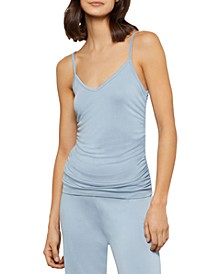 Ruched Knit Cami Top