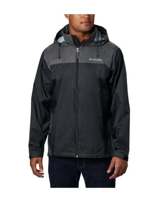 Columbia Mens Glennaker Lake™ Rain Jacket, Black, Size: S