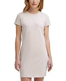 Crewneck Mini Dress