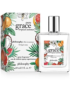 Pure Grace Tropical Summer Eau de Toilette, 2-oz.