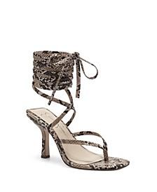 Women's Kelsa Ankle Wrap High Heel Dress Sandals