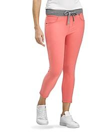 WearEver U R Feel Good Sweatshirt Denim Capri Leggings