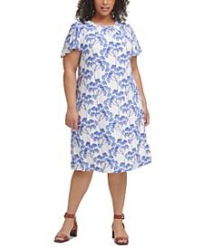 Plus Size Nantucket Blossom Dress