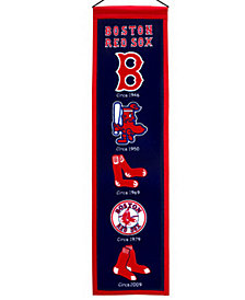 Winning Streak Boston Red Sox Heritage Banner