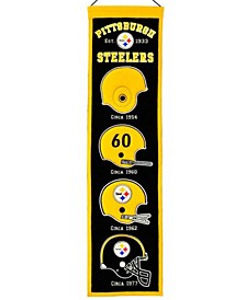 Pittsburgh Steelers Heritage Banner