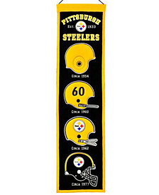 Winning Streak Pittsburgh Steelers Heritage Banner