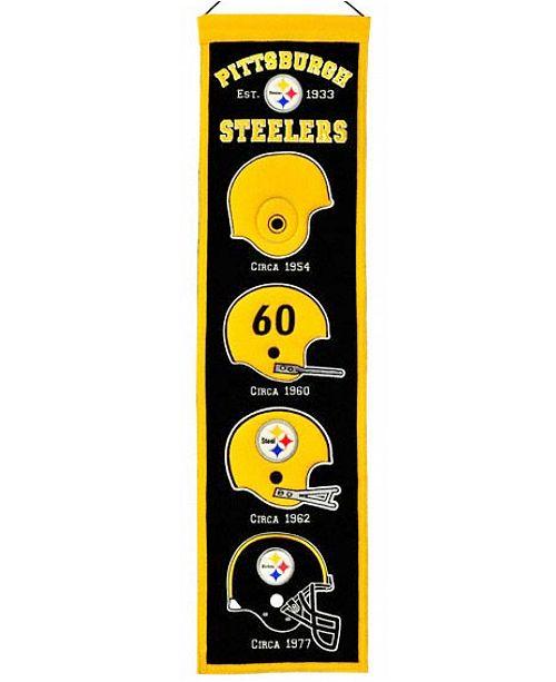 Winning Streak Pittsburgh Steelers Heritage Banner