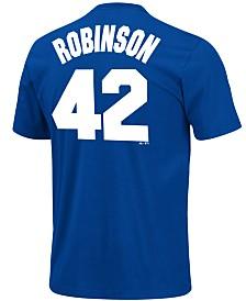 Majestic Men's Jackie Robinson Brooklyn Dodgers Player T-Shirt