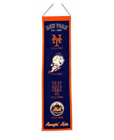Winning Streak New York Mets Heritage Banner