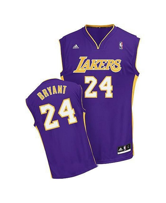 adidas Kids' Kobe Bryant Los Angeles Lakers Revolution 30 Jersey ...