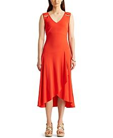 Petite Jersey Sleeveless Dress