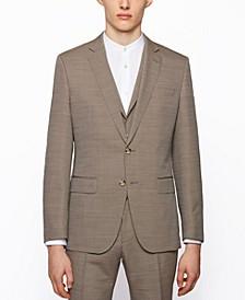 BOSS Men's Three-Piece Slim-Fit Suit
