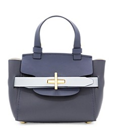 Brigette Belted Leather Mini Crossbody