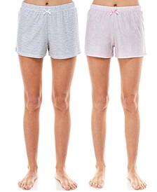2-Pk. Printed Sleep Shorts