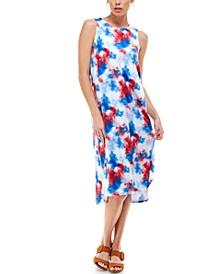 Printed Maxi Loungewear Nightgown