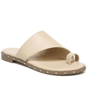 Hattie Asymmetrical Hooded Studded Sandals