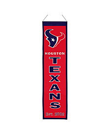 Winning Streak Houston Texans Heritage Banner