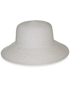 Classic Braid Packable Floppy Hat