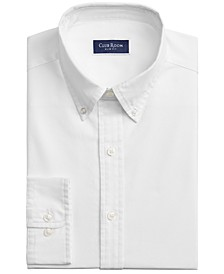 Men's Slim-Fit Solid Oxford Dress Shirt, Created for Macy's