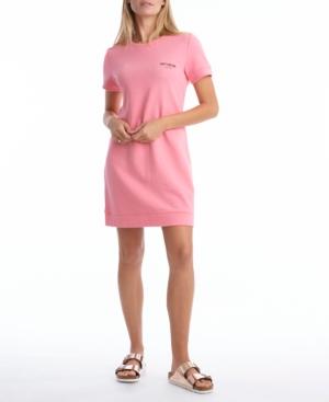 Juicy Couture Cottons SHORT SLEEVE TEE FLEECE DRESS