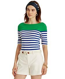 Petite Striped Top