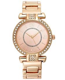 Women's Rose Gold-Tone Bracelet Watch 35mm
