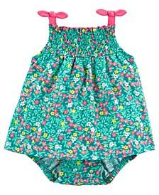 Baby Girls Floral Sunsuit