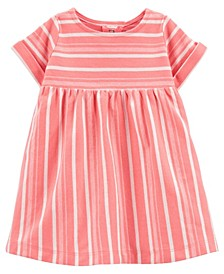 Baby Girls Striped Jersey Dress