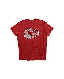 '47 Brand Men's Kansas City Chiefs Logo Scrum T-Shirt