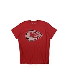 '47 Brand Men's Kansas City Chiefs Logo Scrum T-Shirt