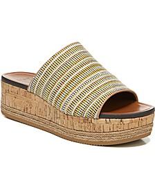Nebraska Slide Wedge Sandals
