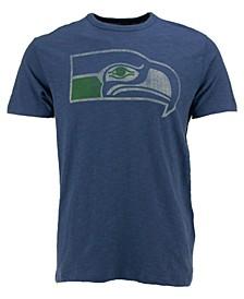 Men's Seattle Seahawks Retro Logo Scrum T-Shirt