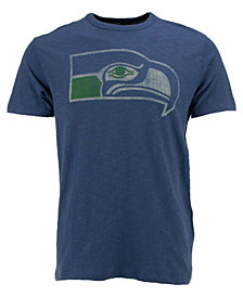 '47 Brand Men's Seattle Seahawks Retro Logo Scrum T-Shirt