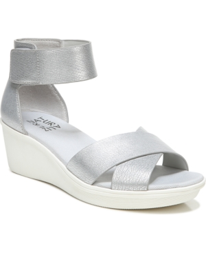 Naturalizer Wedges RIVIERA ANKLE STRAP WEDGE SANDALS WOMEN'S SHOES