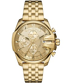 Men's Baby Chief Chronograph Gold-Tone Stainless Steel Bracelet Watch 43mm