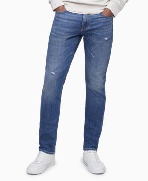 Calvin Klein Jeans MEN'S SLIM FIT STARSHINE HIGH STRETCH JEANS