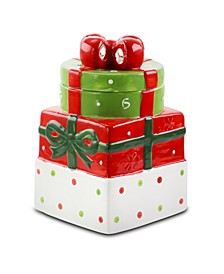Christmas Estate Holiday Cookie Jar Gift Box