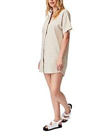 Women's Woven Evie Shirt Mini Dress