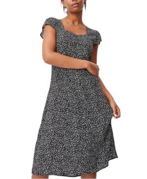 Women's Woven Cleo Tie Back Midi Dress