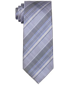 Men's Argento Slim Plaid Tie