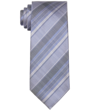 Men's Argento Slim Plaid Tie