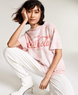 Cotton Coca-Cola-Graphic T-Shirt