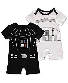Baby Unisex 2-Pk. Star Wars Rompers