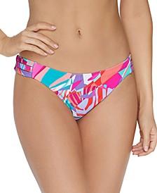 Juniors' Curitiba Triple-Side-Strap Bikini Bottoms