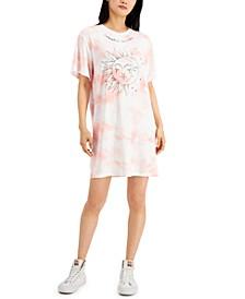 Juniors' Celestial Dreamer-Graphic T-Shirt Dress