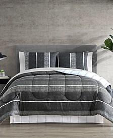 Matt 8-Pc. Reversible Queen Comforter Set