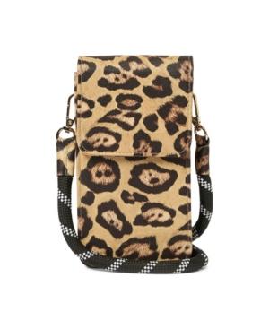 Urban Originals Women's Nova Phone Bag In Leopard