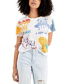 Juniors' Space Jam T-Shirt