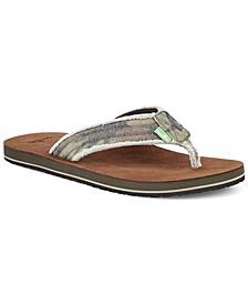 Men's Fraid Not Flip-Flop Sandals